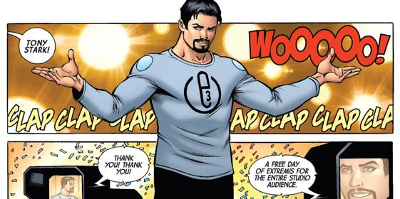 鋼鐵人 (Iron Man) 漫畫