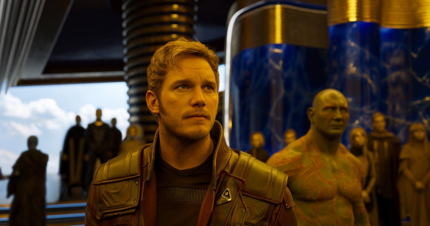 克里斯普瑞特 《 星際異攻隊 》 劇照 。