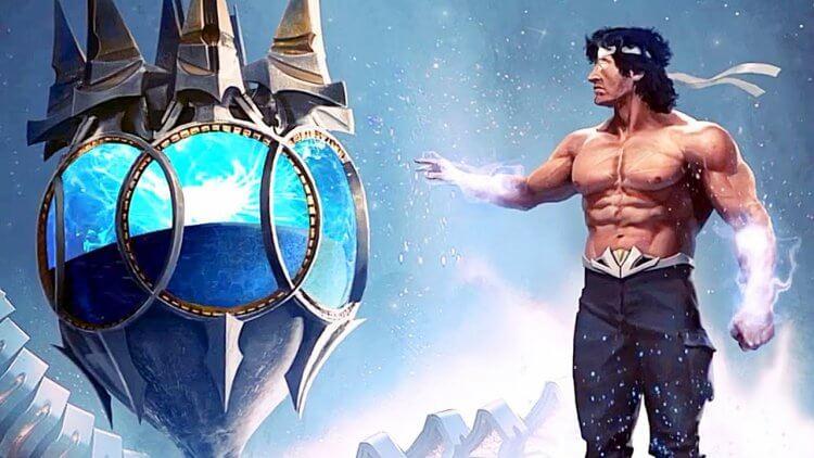客串登場《真人快打》電玩的《第一滴血》約翰藍波。