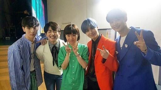 SHINee成員KEY放上與朴智宣的合照並哀悼