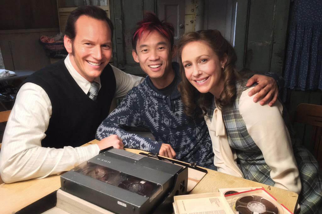 派翠克威爾森 (Patrick Wilson)與薇拉法蜜嘉 (Vera Farmiga) 參與溫子仁 (James Wan)的《厲陰宅》(The Conjuring)系列電影