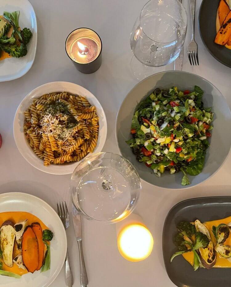 Rosé在個人IG分享平時飲食多以原型食物與蔬果為主