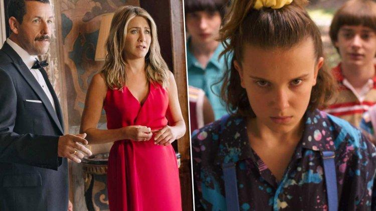 Netflix 2019 北美觀賞排行榜公開!亞當山德勒靠《奪命鴛殃》奪冠、《怪奇物語》緊追;《獵魔士》、《安眠書店》甫上線就進榜首圖