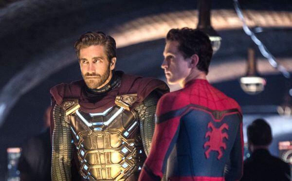 傑克葛倫霍在《蜘蛛人:離家日》當中所飾演的「神祕客」。