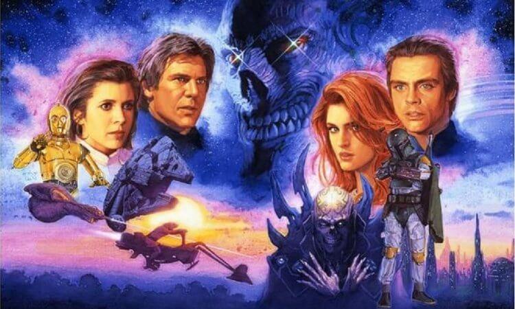 《星際大戰》。