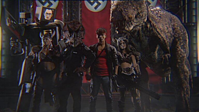 《功之怒》(Kung Fury) 劇照。