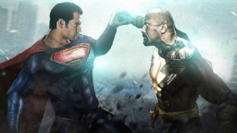 「黑亞當」巨石強森與「超人」亨利卡維爾有沒有機會相見歡?《黑亞當》製片這麼說——