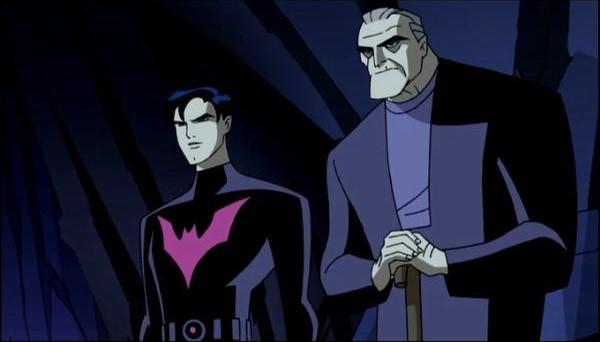 《未來蝙蝠俠》動畫,年邁的布魯斯韋恩及繼承人泰瑞麥金斯