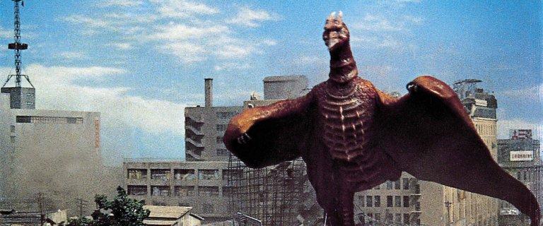 《空之大怪獸拉頓》劇照。