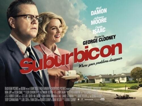 喬治克隆尼執導,麥特戴蒙、茱莉安摩爾主演的 2017 年電影《完美社區謀殺案》,集結黃金陣容但可惜反響不佳。