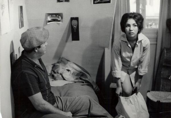 侯麥首部長片《獅子星座》劇照。