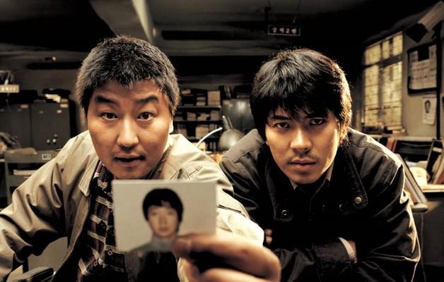 《殺人回憶》電影劇照。