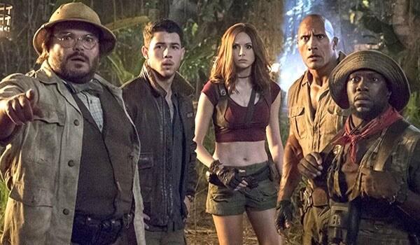 2017 年《野蠻遊戲:瘋狂叢林》中的主演陣容:傑克布萊克、尼克強納斯、凱倫吉蘭、巨石強森以及凱文哈特等人都將續投《野蠻遊戲 3》演出。