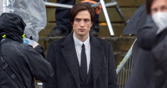 羅伯派汀森主演電影《蝙蝠俠》最新片場照。