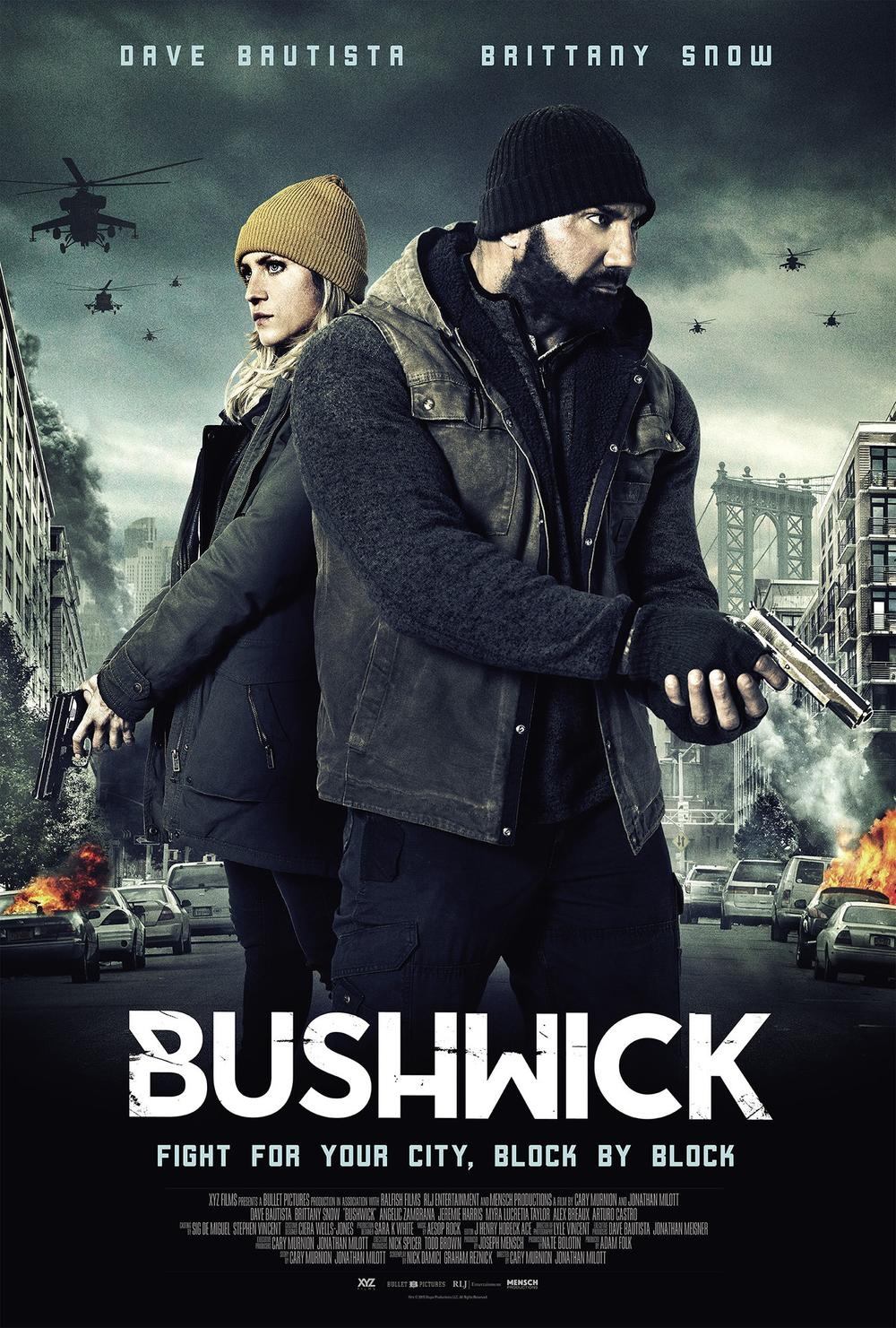 《 全境警戒 》 (Bushwick) 英文版 電影海報
