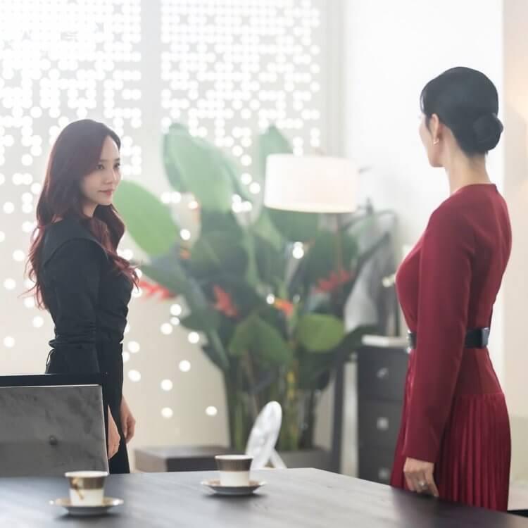 金素妍、柳真《Penthouse上流戰爭》第二季劇照