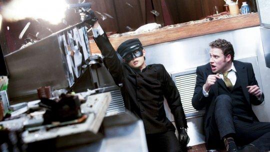 塞斯羅根 (Seth Rogen) 與周杰倫演出的《青蜂俠》(Green Hornet)