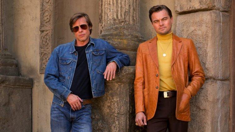 布萊德彼特與李奧納多狄卡皮歐兩大影帝於昆汀塔倫提諾導演《從前,有個好萊塢》首度同框演出。