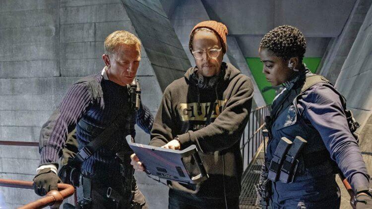 《007:生死交戰》片場側拍