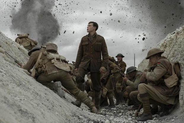 《1917》是曾獲奧斯卡最佳導演的山姆曼德斯與憑藉《銀翼殺手 2049》獲得奧斯卡最佳攝影的羅傑狄金斯合作的最新力作。