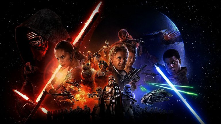 《STAR WARS:原力覺醒》(Star Wars: The Force Awakens) 劇照。
