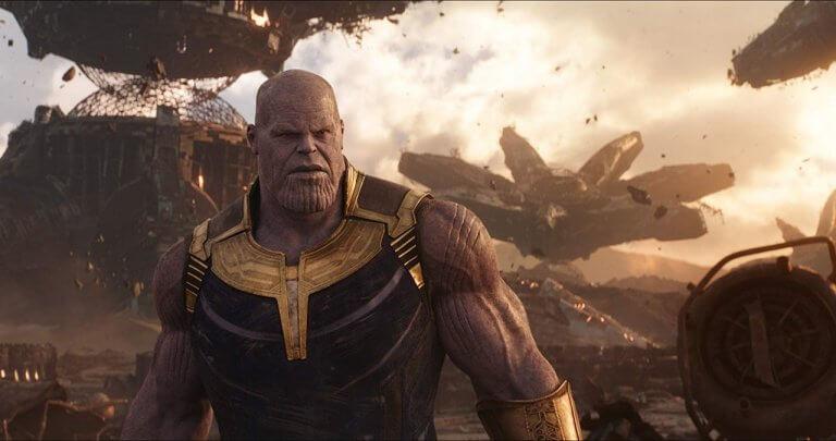 《復仇者聯盟 3:無限之戰》中,薩諾斯使用無限手套上的寶石之力,彈指滅了半個宇宙的生命。