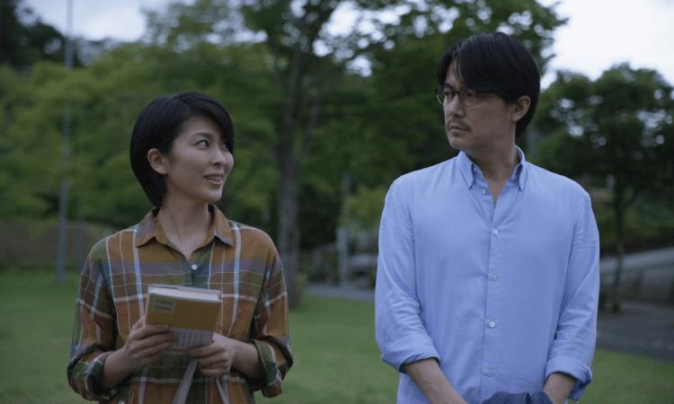 《最後的情書》松隆子與福山雅治。