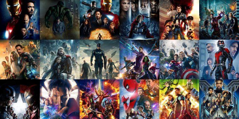 漫威工作室不斷將旗下漫畫改編成暢銷全球的超級英雄電影,成就「漫威電影宇宙」。