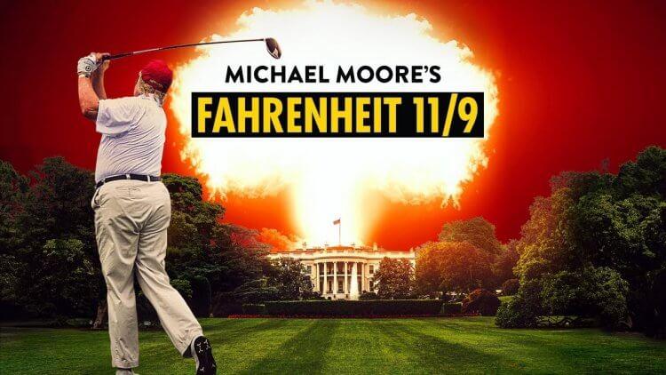 麥克摩爾紀錄片電影《華氏 11/9》劇照。
