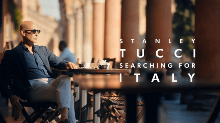 CNN 美食節目《史丹利圖奇:探索義大利》。