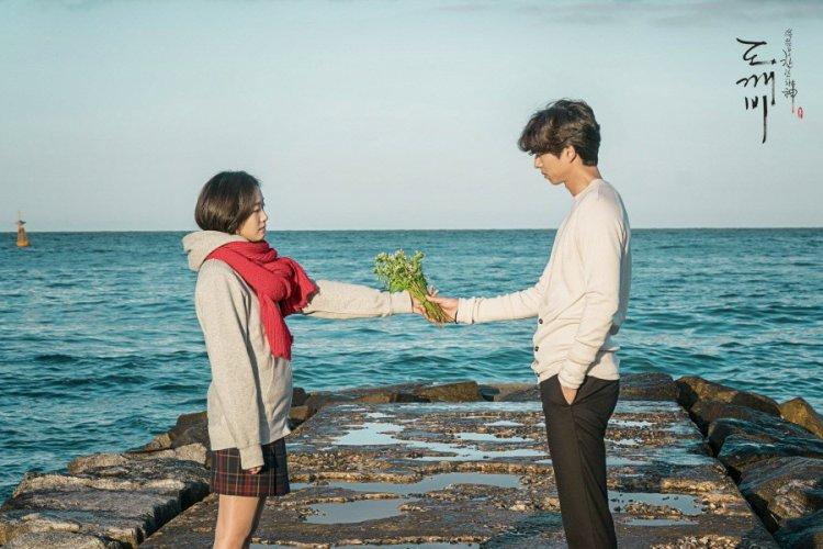 孔劉與金高銀合演的《孤單又燦爛的神-鬼怪》擁有極高收視率。