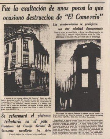 西語版《世界大戰》廣播劇播出後,也在厄瓜多當地造成恐慌人禍。