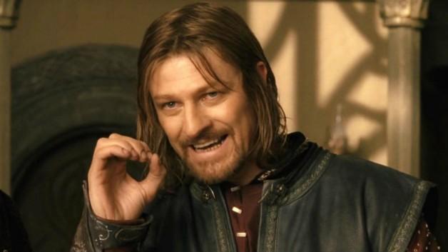 由西恩賓所飾演的知名影集《冰與火之歌:權力遊戲》中的奈德(艾德史塔克)。