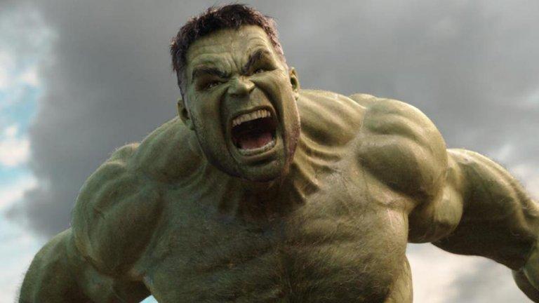 《復仇者聯盟4:終局之戰》裡的浩克 (Hulk) 。