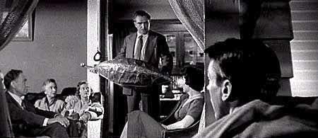 1956年《天外魔花》電影劇照。