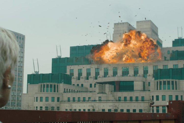 《007:空降危機》(Skyfall) 劇照。