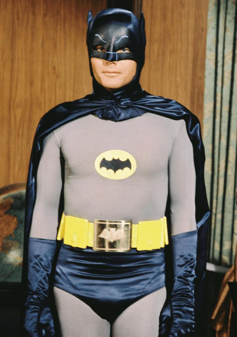 1966-1968 年由亞當威斯特主演的《蝙蝠俠》影集版。