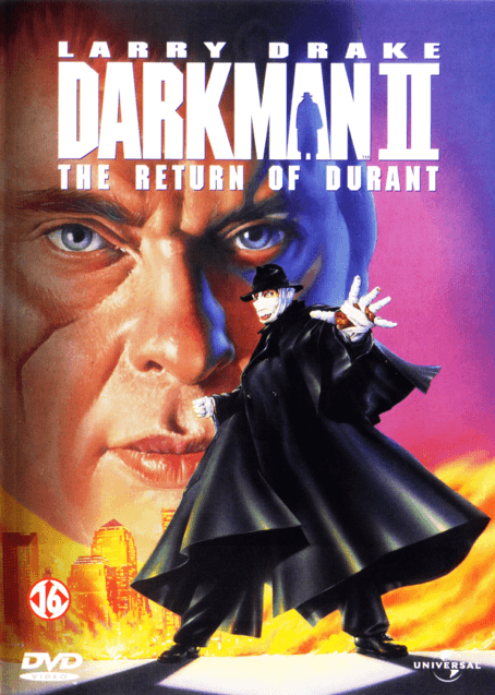 《魔俠震天雷2:狂魔再現》(Darkman II: The Return of Durant)DVD