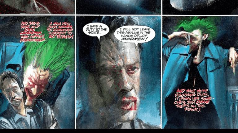 最終未能完成的《不羈蝙蝠俠》參考漫畫《阿卡漢瘋人院》諸多部分。