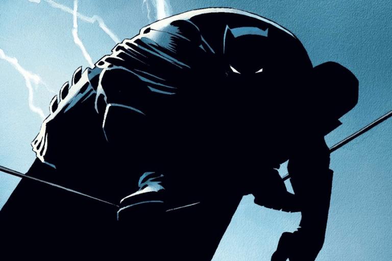 1986 年,法蘭克米勒 創作了《黑暗騎士回歸》(The Dark Knight Returns)
