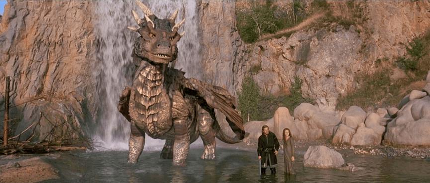 羅伯柯恩 導演作品 90 年代 中古年代奇幻經典電影 《 魔龍傳奇 》