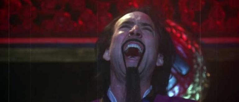 羅伯殭屍拍攝的偽預告片《黨衛軍的女狼人》中的尼可啦斯凱吉。