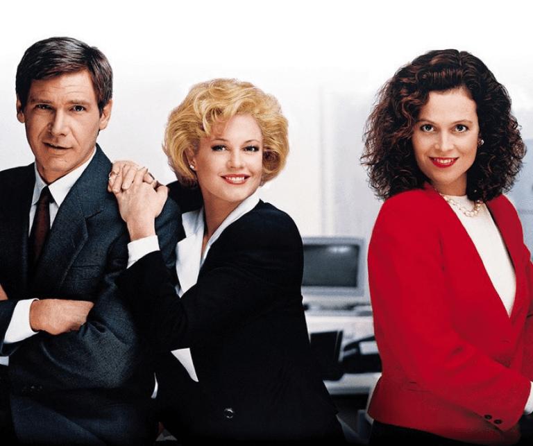 1988 年描述女性職場故事的電影《上班女郎》。