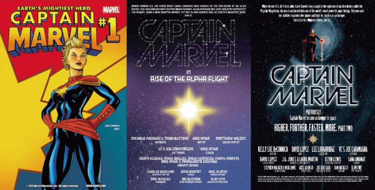 漫威漫畫中的「驚奇隊長」,封面必附上「地球上最強英雄」的標語。