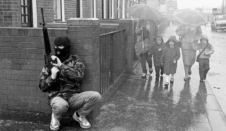 「北愛爾蘭問題」時期(The Troubles)危險的局勢