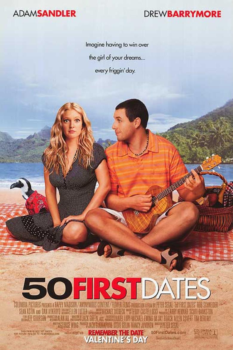 日本戀愛電影 《 第50次初吻 》 改編自 好萊塢 電影作品 《 我的失憶女友 》