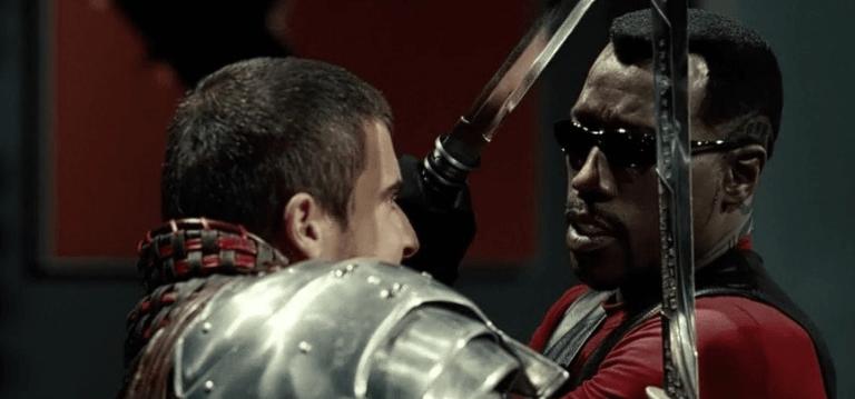 吸血鬼獵人與德古拉的戰爭:2004 年的漫改超級英雄電影《刀鋒戰士 3》。