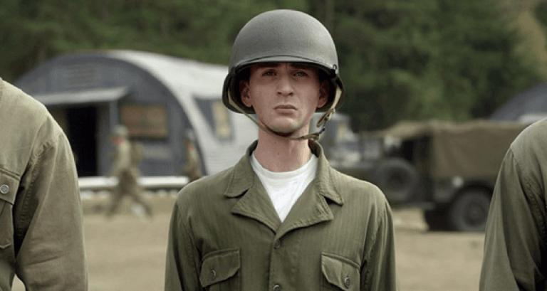 《美國隊長》(Captain America: The First Avenger) 的克里斯伊凡 (Chris Evans)