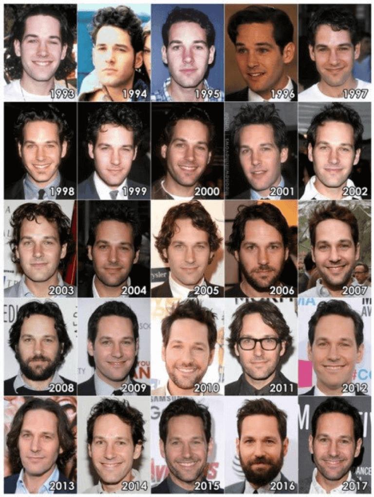從《獨領風騷》《六人行》到《蟻人》與現在,保羅路德在好萊塢 20 幾年來竟然越來越年輕?
