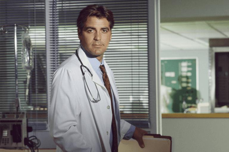 1994 年起播映的熱門影集《急診室的春天》讓喬治克隆尼成為風靡全球的當代師奶殺手。